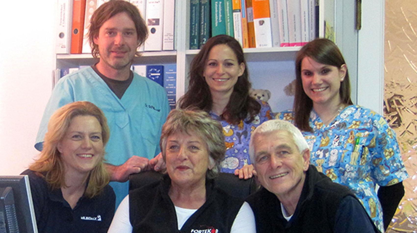 Team der Tierarztpraxis Berg am Laim